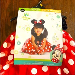 NWT toddler Minnie Mouse costume